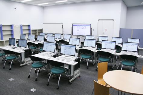 クラスルームA室内
