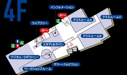 マップ4階