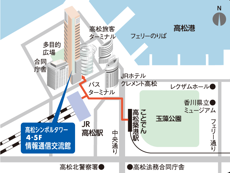 マップ5階