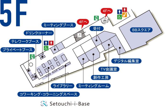 5階のマップ